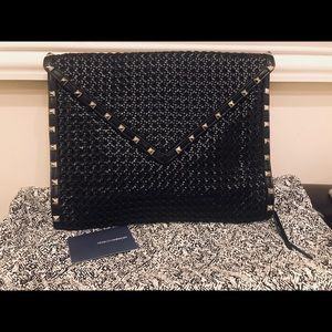 Rebecca Minkoff Oversized Clutch with Rock studs